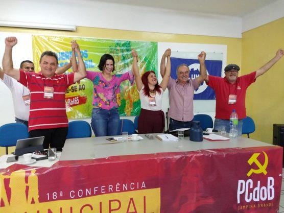 PCdoB Paraíba realiza a 18º Conferência Municipal da cidade de Campina Grande