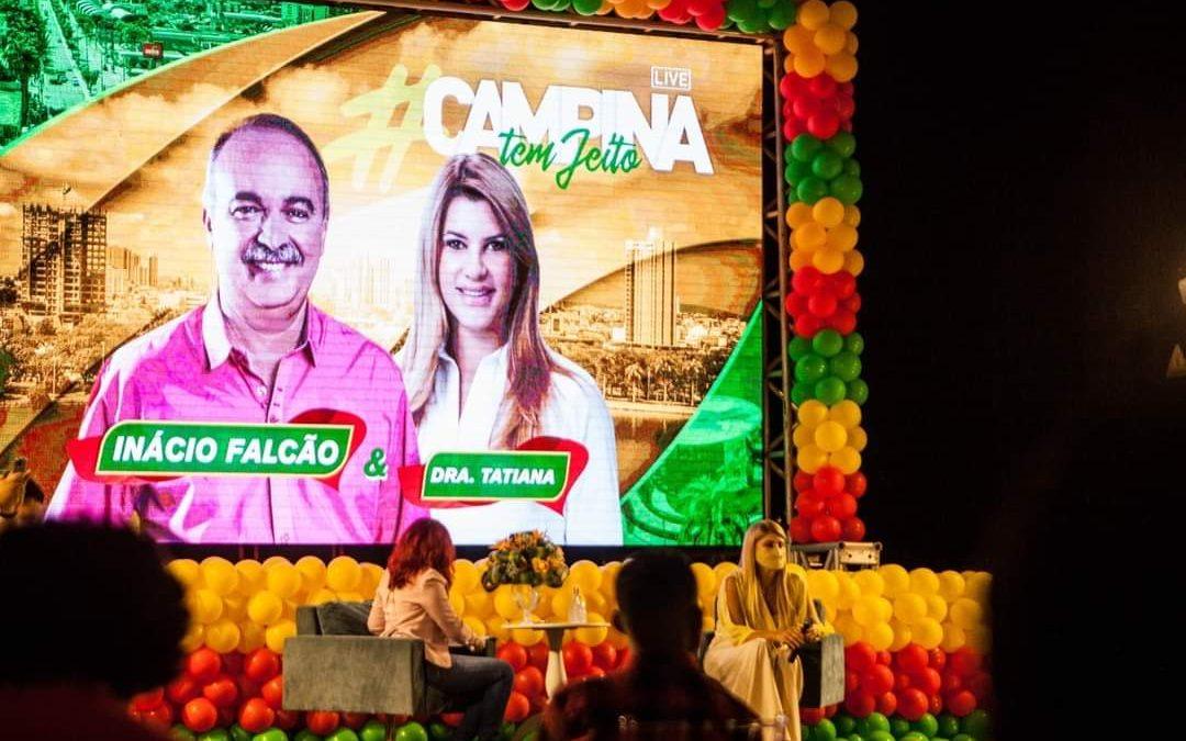 """""""Estou firme e forte"""", disse Inácio Falcão na live """"Campina tem jeito"""""""